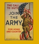 Hill, Ernest A., 1960-1962, Albemarle Ruritan (photo Army recruitment poster)